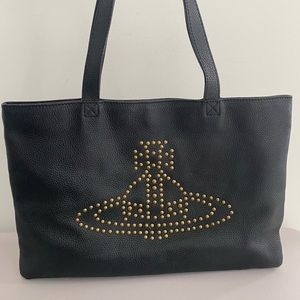 Authentic Vivienne Westwood leather tote